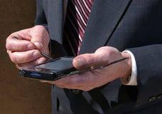 Ayudante personal PDA Imagen de archivo