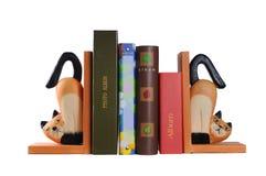 Ayudas decorativas para los libros Imagen de archivo libre de regalías
