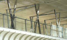 Ayudas del acero como decoración interior Imagen de archivo