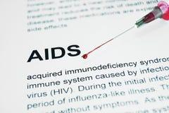 Ayudas del VIH Foto de archivo libre de regalías