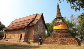 Ayuddhaya泰国 免版税库存图片