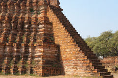 Ayuddhaya泰国 库存照片