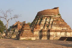 Ayuddhaya Tailandia Fotografie Stock