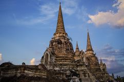 Ayudhaya в Таиланде Стоковые Изображения