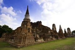 ayudhaya antyczna świątynia Zdjęcie Royalty Free