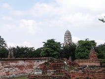 Ayudhaya Historical park Royalty Free Stock Images