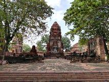 Ayudhaya Historical park Stock Images