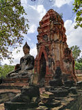 Ayudhaya Historical park Royalty Free Stock Image