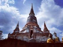 Ayudhaya Historical park, world heritage of Thailand Royalty Free Stock Image