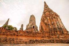 Ayudhaya old temple of Thailand Stock Photos