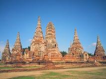 Ayudhaya tempelThailand gammal huvudstad av siam royaltyfri foto
