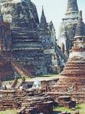 Ayudhaya Thailand stock foto