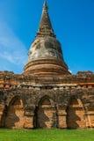 Ayudhya-Tempel Lizenzfreie Stockfotografie