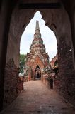 Ayudthaya Temple Royalty Free Stock Photography
