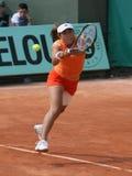 Ayumi MORITA (JPN) at Roland Garros 2010 Stock Photo
