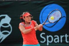 Ayumi Morita - Sparta Prague open 2012 Royalty Free Stock Images