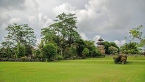 ayun pura taman πρεσών Ινδονησία Στοκ Εικόνες