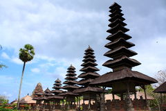 ayun taman巴厘岛印度尼西亚的pura 免版税库存照片
