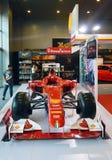 Ayunan Show2014 autos demostración de BANGKOK, TAILANDIA julio 4,2014 A del Fórmula 1 rojo por Shell, convenio Hall Bangna de Bit foto de archivo