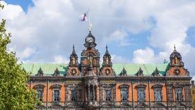Ayuntamiento antiguo en Malmö Fotografía de archivo