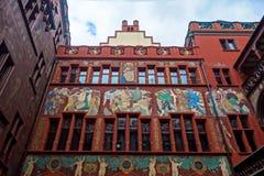 Ayuntamiento Basilea en Basilea, Suiza fotos de archivo