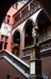 Ayuntamiento Basilea en Basilea, Suiza Fotografía de archivo libre de regalías