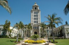 Ayuntamiento Beverly Hills Fotos de archivo