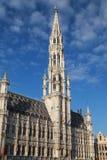 Ayuntamiento Bruselas Fotos de archivo