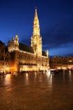 Ayuntamiento Bruselas Imagen de archivo libre de regalías