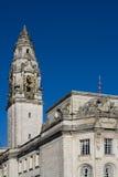 Ayuntamiento Cardiff Imágenes de archivo libres de regalías
