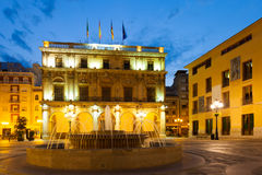 Ayuntamiento in Castellon de la Plana, Spain Stock Photos