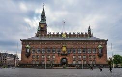Ayuntamiento Copenhague fotografía de archivo libre de regalías