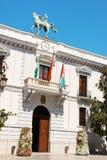 Ayuntamiento de格拉纳达(城镇厅),西班牙 库存图片