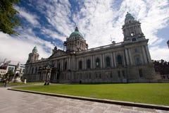 Ayuntamiento de Belfast imagenes de archivo