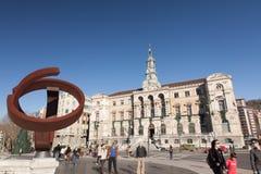 Ayuntamiento de Bilbao, España Imagen de archivo