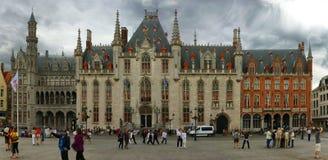 Ayuntamiento de Brujas foto de archivo