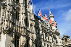 Ayuntamiento de Bruselas Imagenes de archivo