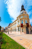 Ayuntamiento de Cartagena Murciacity hall Spain Royalty Free Stock Photos