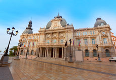 Ayuntamiento de Cartagena Murciacity hall Spain Stock Photos