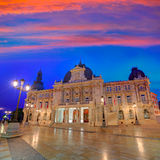 Ayuntamiento de Cartagena Murciacity hall Spain Stock Images