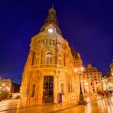 Ayuntamiento de Cartagena Murciacity hall Spain Royalty Free Stock Photography