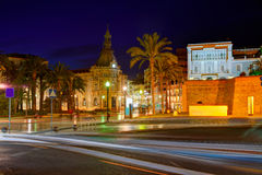Ayuntamiento de Cartagena Murciacity hall Spain Royalty Free Stock Photography