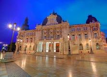 Ayuntamiento de Cartagena Murciacity hall Spain Royalty Free Stock Images