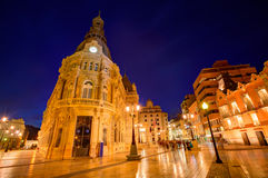 Ayuntamiento de Cartagena Murciacity hall Spain Stock Photo