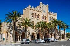 Ayuntamiento de Ciutadella Imagen de archivo libre de regalías
