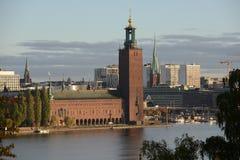 Ayuntamiento de Estocolmo Fotos de archivo libres de regalías