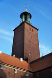 Ayuntamiento de Estocolmo imagen de archivo