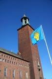 Ayuntamiento de Estocolmo fotos de archivo
