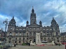Ayuntamiento de Glasgow foto de archivo libre de regalías