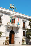 Ayuntamiento de Granada (stadshuset), Spanien Fotografering för Bildbyråer